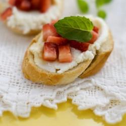 Pretend panini uses waffle iron