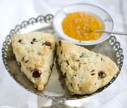 Cranberry Orange Scones fitting during summer and winter alike