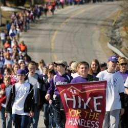 Hike for the Homeless Saturday in Bangor