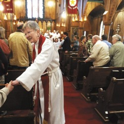Maine bishop 'fairy godmother' to Houlton parish