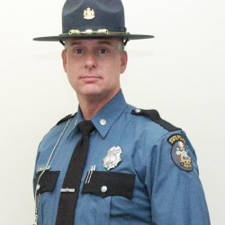 Five new state troopers get badges, assignments