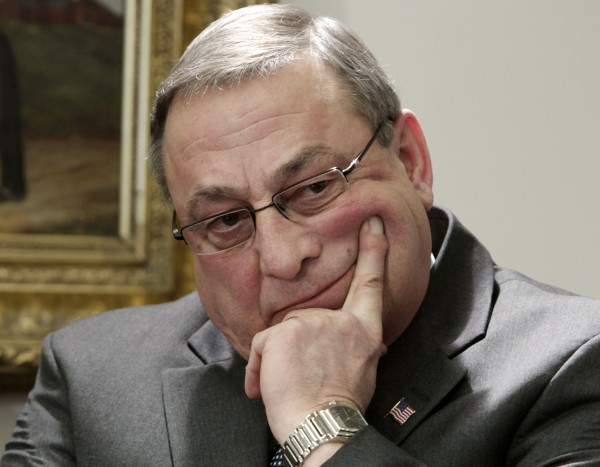 Gov. Paul LePage appears at a news conference at the State House in Augusta in January.  After less than three months on the job, LePage has already managed to rankle more constituencies with his bluntness than any Maine governor in recent memory.