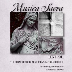 St. John Chamber Choir to perform Lenten concert March 16