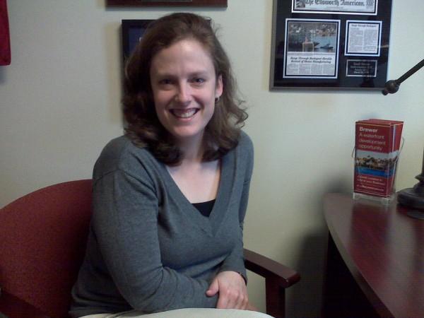 Nicole Gogan, Brewer's new economic development deputy director.