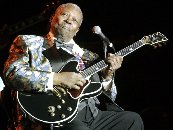 Blues guitarist B.B. King performs at the Lowell Memorial Auditorium, Jan. 5, 2005, in Lowell, Mass.