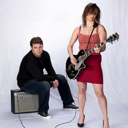 Duo The Thriftways play amped-up blues rock
