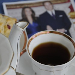 Americans wake before dawn to watch royal wedding