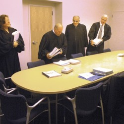 Justices hear arguments on appeal in Bangor