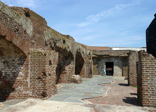 The ruins of Fort Sumter are a major attraction for tourists visiting Charleston, S.C. Maintained by the National Park Service, Fort Sumter is the site where the Civil War began on April 12, 1861.