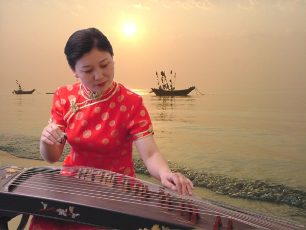 Bing Xia is one of 16 acts from around the world that will perform at Bangor's 10th annual American Folk Festival on Aug. 26-28.