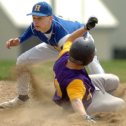Bailey, Bucksport outlast George Stevens for 9-7 baseball win