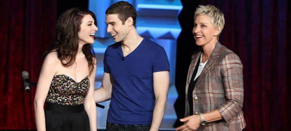 Karmin appeared on &quotEllen&quot on April 20, 2011.