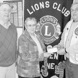 Camden Lions Club supports YMCA summer camp program