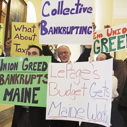 Maine looks to social security to solve pension problems
