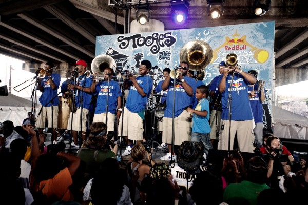 The Stooges Brass Band is one of 16 acts from around the world that will perform at Bangor's 10th annual American Folk Festival on Aug. 26-28.