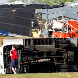 South looks to recover from killer twisters that killed at least 45