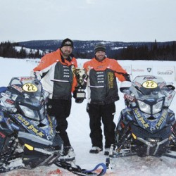 Team Maine roars to first place in Cain's Quest snowmobile race