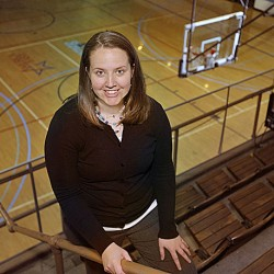 Amy Vachon looks forward to new job