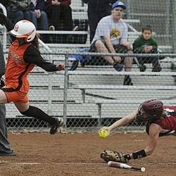 High school softball teams deal with sloppy spring; Medomak posts 9-0 mark