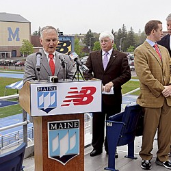 New Balance giving UMaine $5M gift for naming rights to field house, fitness center
