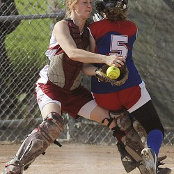 Bangor softball team erupts in fifth for win
