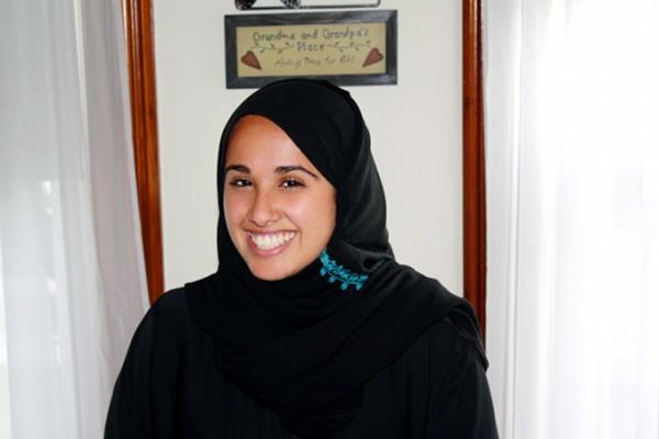 Rema in her abaya