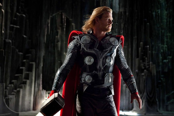 Chris Hemsworth as the titular character in Thor, opening in theaters May 6, 2011.