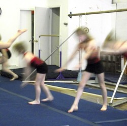 Toddlers Enjoy Gymnastics