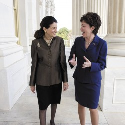 Snowe and Collins might not like each other much, but they love Maine and their jobs