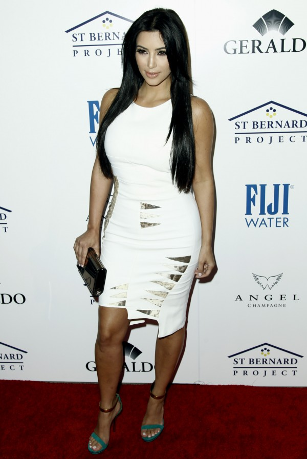 Kim Kardashian arrives at an Evening of &quotSouthern Style&quot presented by The St. Bernard Project and the Spears Family in Beverly Hills, Calif., Wednesday, May 11, 2011.  The St. Bernard Project is a non-profit organization that  provides relief work for survivors of Hurricane Katrina.