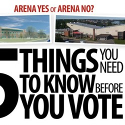 Arena vote Wednesday; turnout could be the difference