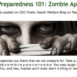 Bangor prepares for a zombie attack