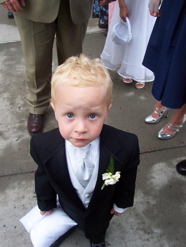 A photo of Camden Pierce Hughes taken from Julianne McCrery's MyLife page.