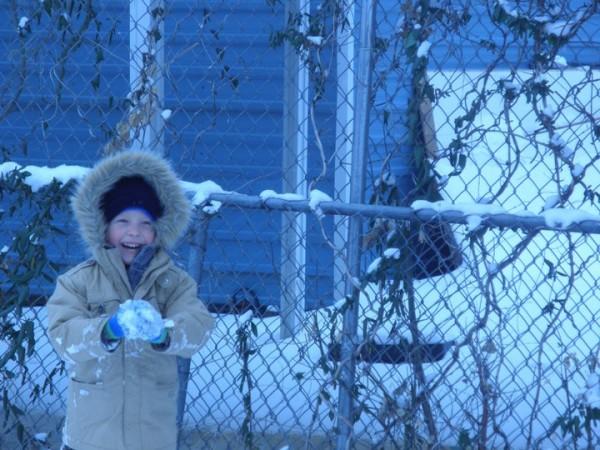Camden Pierce Hughes in a photo taken in February from Julianne McCrery's Facebook page.