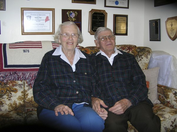 Nancy and Guy Ellms of Dexter will lead the World War II contingent during the Bangor Memorial Day Parade at 10:30 a.m. Monday, May 30, and will attend the afternoon program at Cole Land Transportation Museum, 405 Perry Road.
