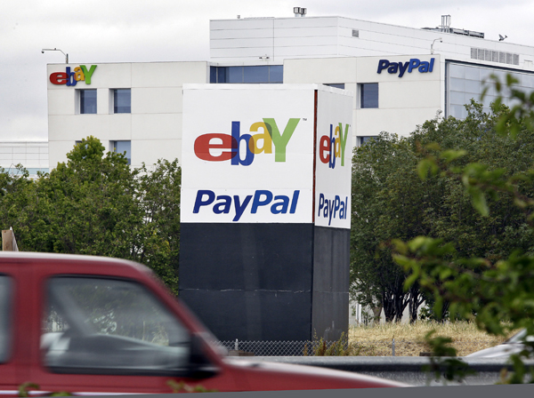 An exterior view of PayPal and eBay offices in San Jose, Calif., Friday.  Google says it will fight allegations that it stole PayPal's trade secrets to develop a service that allows people to use their smartphones like credit cards.