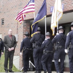 Community gathers to remember police commissioner with Maine ties