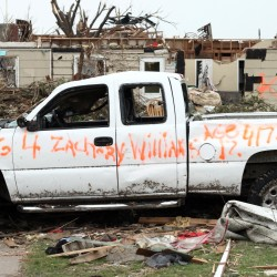 Missouri tornado death toll at 132; funerals begin