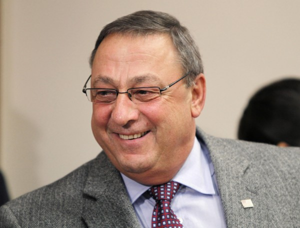 Gov. Paul LePage speaks at a news conference in April at the State House in Augusta. The Republican governor is a tad stingy with his signature, allowing six bills enacted by the House and Senate to become law without his signature, an option the state Constitution allows.