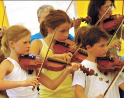 Tradition connects musicians at 40th East Benton Fiddlers Convention
