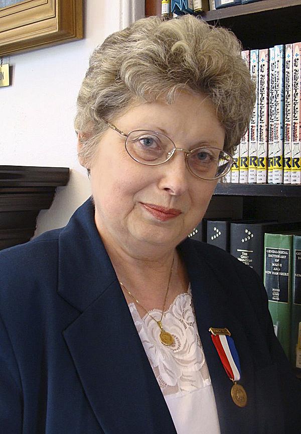 Nancy Battick of Dover-Foxcroft, president of the Daughters of Union Veterans.