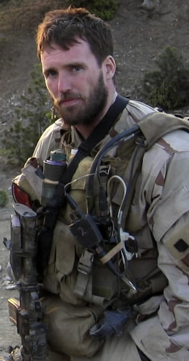 This undated file photo released by the U.S. Navy shows Navy Seal Lt. Michael P. Murphy, from Patchogue, N.Y.  Murphy who was killed while leading a reconnaissance mission deep behind enemy lines in Afghanistan received the nation's highest military award for valor _ the Medal of Honor, A warship bearing the name of the Medal of Honor winner will be christened on what would have been his 35th birthday Saturday, May 7, 2011 at Bath Iron Works, where the 9,500-ton destroyer is being built.