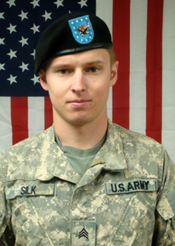 This is an undated photo from the U.S. Army, of Staff Sgt. Brandon Silk, who died June 21, 2010 when a Blackhawk helicopter made a hard landing near Gaza Ridge, Afghanistan.