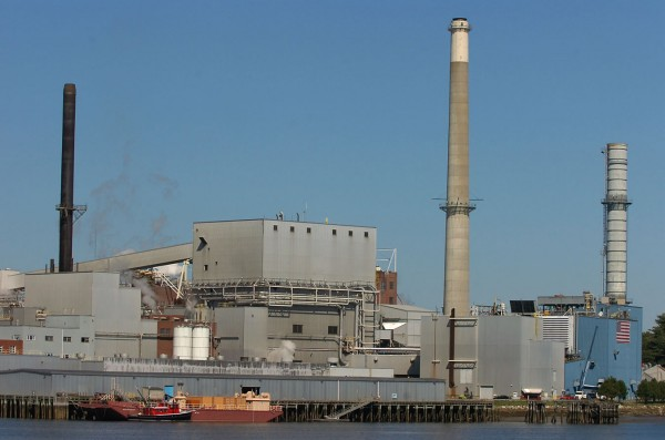 The Verso Papermill in Bucksport in 2007.