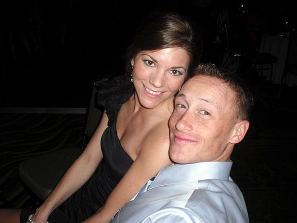 Lynel Winters and her husband 1st Lt. James Zimmerman at NC State College of Veterinary Medicine Ball 2010.