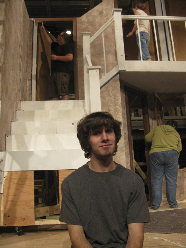 Teen actor Tyler Johnstone, who has joined the U.S. Air Force, expects that the upcoming &quotNoises Off' will be his last Waldo County play for quite a while.