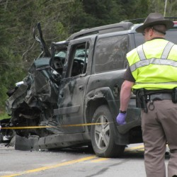 Unity: Man driving SUV dies in collision with tractor-trailer