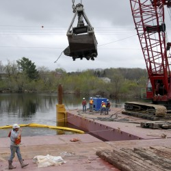 $10 million Piscataquis River bridge open in Howland, but not finished