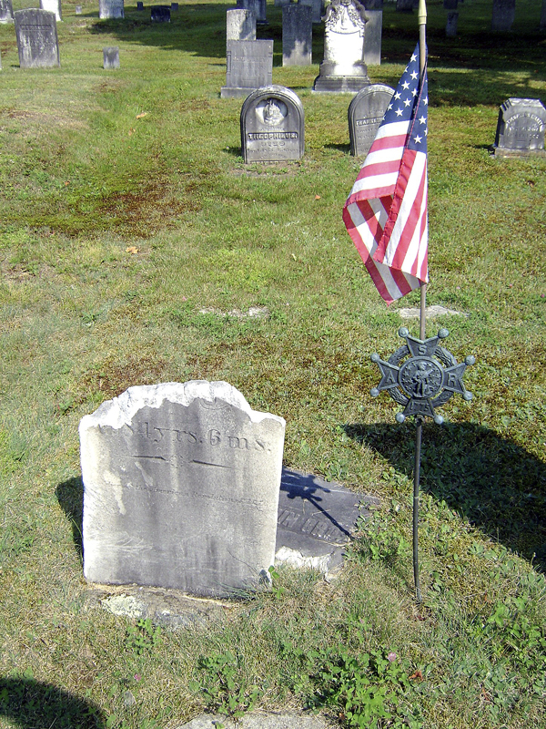 A new gravestone for Revolutionary War soldier Benjamin Gross, buried at Riverview Cemetery in Bucksport, will be dedicated during a ceremony honoring Gross and Revolutionary War veteran Charles Hutchings of Penobscot at 1 p.m. Saturday, May 14, at Arey Community Center on River Road in Bucksport. All are welcome.