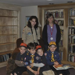 Cub Scouts explore lake bottom at Camp Bomazeen